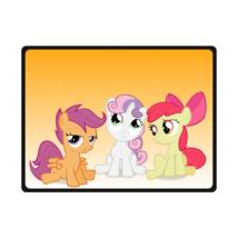 My Little Pony Large Medium Small Size Fleece Throw Blanket - $40.00+