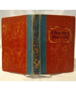 A Boy For A Man's Job by Nina Brown Baker  (1952 1st Edition Hardcover w... - $32.68