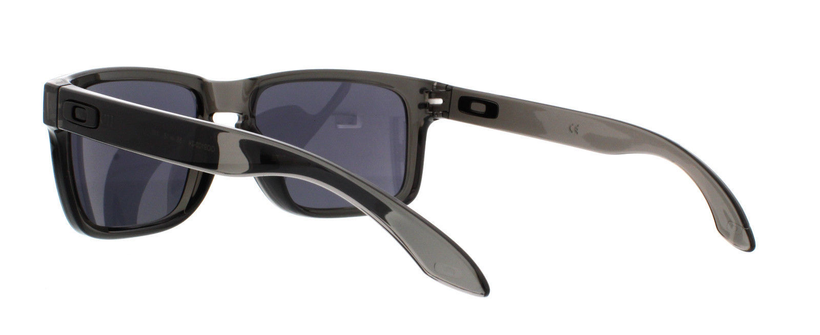 Nuovo Oakley Sport Holbrook Grigio Smoke W/ Nero IRIDIO OO9102-24