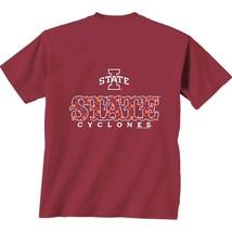 Iowa State Cyclones NCAA Men's Initial Pattern Shirt, 2XL, NWT - $9.46