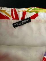 Dolce & Gabbana Charcoal Women Skirt Made in Italy White Red Yellow Orange Small image 7