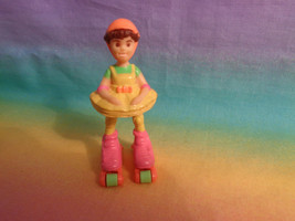 Vintage 1996 Tyco Skate City N The Roller Girls Pet Shop Paige Figure - $2.48