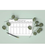 Weekly Planner 2020, printable planner, weekly printable, planner insert... - $0.90