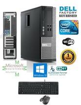 Dell Optiplex Sff Pc Desktop i7 2600 2nd Gen. 16GB 1TB Hd Win 10 Wi Fi DVD-RW - $326.48