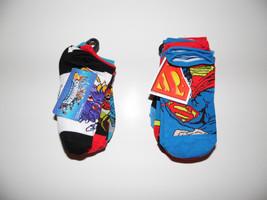 Superman orSkylanders  Toddler Boys 5 or 6  Pairs Ankle Socks Size 6-8.5... - $7.14