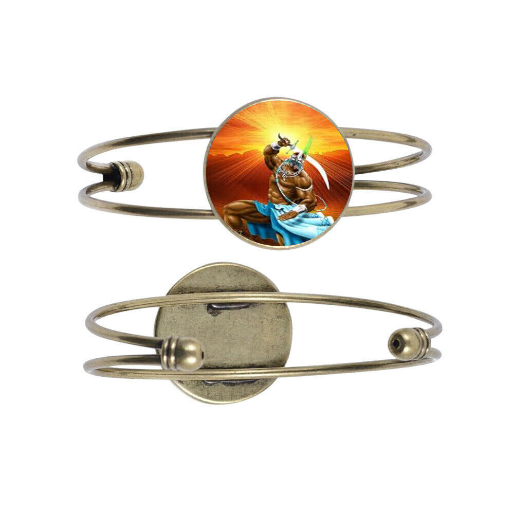 Primary image for Oggun Bronze Color Cuff Bracelet with Centerpiece