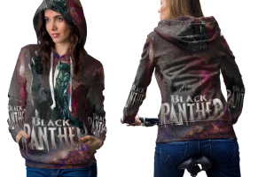Black panther king of wakanda hoodie women