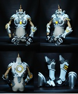 Customize Overwatch Amelie Lacroix Widowmaker Skin Kerrigan Cosplay Armo... - $625.00