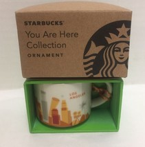 Starbucks Los Angeles You Are Here Ornament Espresso Mini Mug New - $37.39