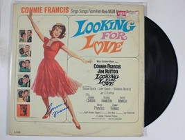"""Connie Francis Signed Autographed """"Looking For Love"""" Record Album - $29.99"""