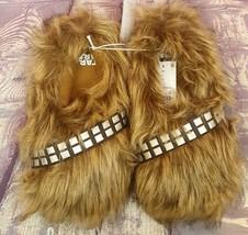 Disney Star Wars Chewbacca Wookie Feet Slippers Kids Sz S L or XL~NWT - $17.99
