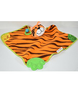 Munchkin TIGER BABY LOVEY SECURITY ACTIVITY BLANKET Blankie Teether CRINKLE - $9.89