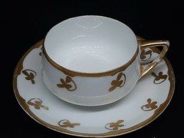 "Rosenthal selb bavaria donatello teacup/saucer slight gold loss c=1.75""x3.5"" p=6 - $40.00"