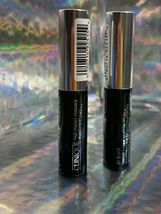 Clinique High Impact Mascara 01 Black 3.5mL *note size* Lot Of 2 image 4