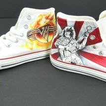 Converse All Star Chuck Taylor Hi Top Custom Youth 2 Van Halen Punk Rock... - $64.30