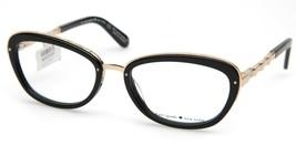 NEW Kate Spade MARIBETH CY5 Black Gold Eyeglasses Frame 52-17-135mm - $83.29