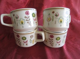 Lot of 4 Lenox Temperware SPRITE Cups (no saucers) - $9.89
