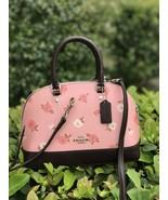 NWT Coach Tossed Peony mini Sierra Satchel handbag Petal multi F66878 - $118.79
