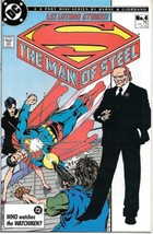The Man of Steel Comic Book #4 Superman DC 1986 VERY FINE/NEAR MINT UNREAD - $5.94