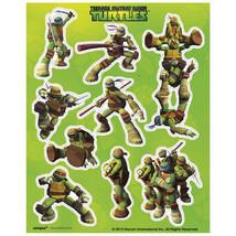Teenage Mutant Ninja Turtles Stickers 4 Sheets Favors TMNT - $3.67 CAD