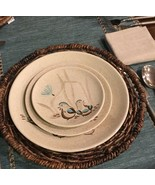 RED WING POTTERY BOB WHITE Blue Quail Bird Bread & Butter Plate (3 avail... - $5.89