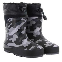 Western Chief Kids' Neoprene Boot, Black Camo NEW Without Box