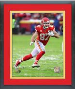 Travis Kelce 2018 AFC Divisional Playoff Game -11x14 Matted/Framed Photo - $43.55
