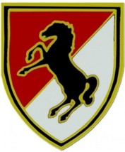 US Army 11th ACR Service Combat Badge  (2 inch) - $14.84