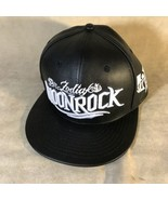 Dr Zodiak's Moonrock Leather SnapBack Hat - $24.74