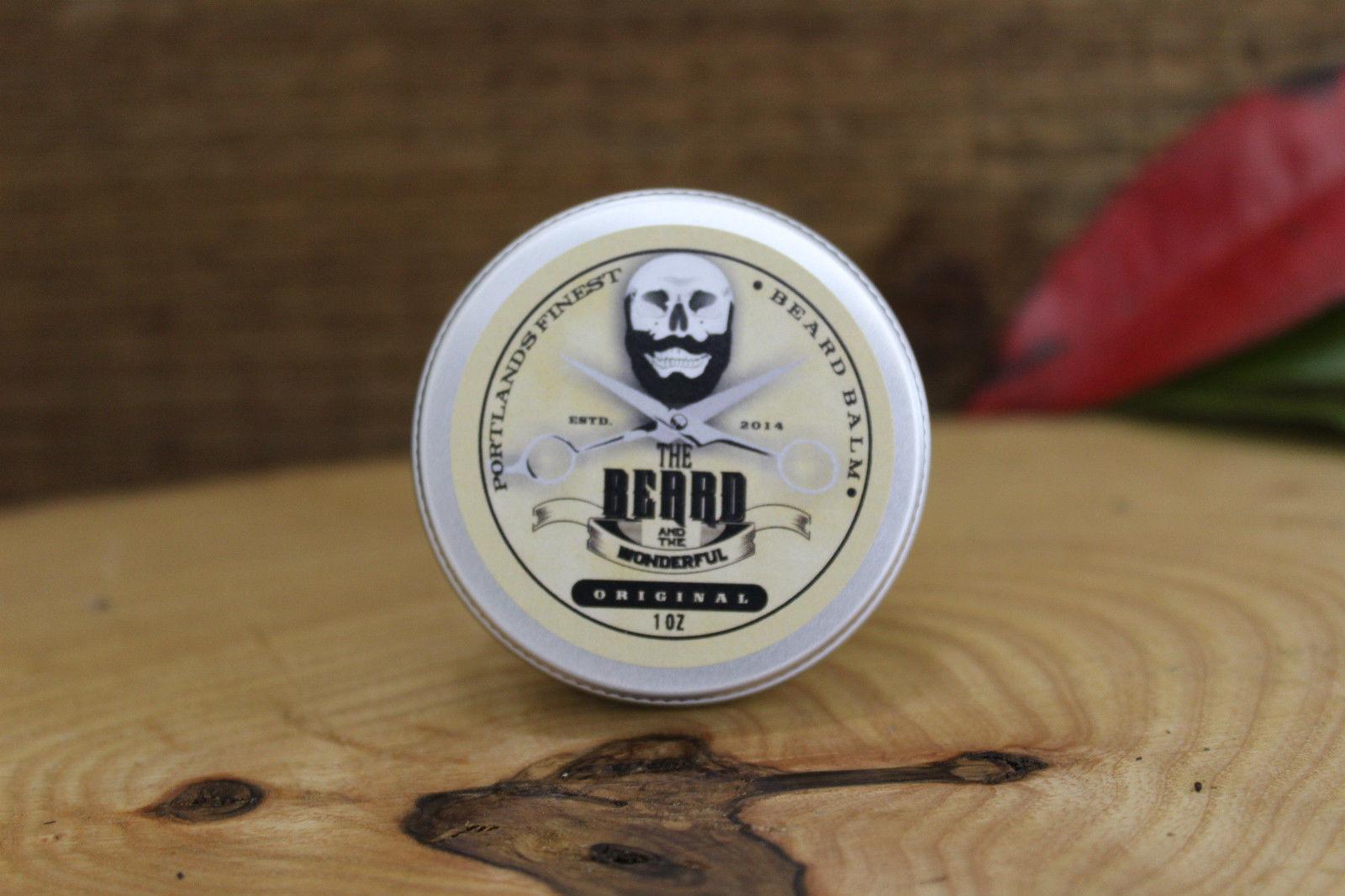 The Beard and The Wonderful, BIG Beard Taming Balm. 30ml (1oz) Tin Unscented