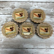 NEW Lot Of 5 Yankee Candle Wax Melts Cinnamon & Sugar Tarts Free Shipping - $13.81