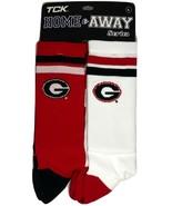 Georgia Bulldogs 2 Pack Home & Away Crew Cut Socks - Medium - $16.95