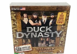 Duck Dynasty Board game Redneck Wisdom family Party 500 trivia question SEALED - $28.98