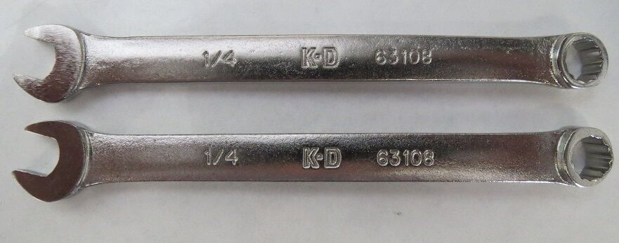 Primary image for KD Tools 63108 - Wrench Combination 1/4in. 12 Point 2 Pieces USA