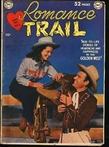 Romance Trail #3 1949- Golden Age DC Western -VG - $95.84