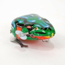 """WIND UP TIN TOY FROG 1.5"""" Hopping Jumping Vintage Retro Style NEW IN BOX... - $6.95"""