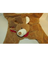 Baby Gund Nursery Rhyme COMFY COZY Reindeer Security Blanket Play Mat re... - $12.86