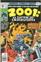 2001: A Space Odyssey Comic Book #4 Marvel Comics 1977 FINE+ - $7.14