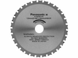"Panasonic Genuine EY9PM13C Carbide Metal Cutting Blade 5-3/8"" for EY3530... - $39.95"