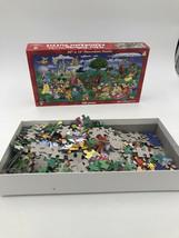 "Walt Disney World Parks Resorts 500 Piece Panoramic Puzzle 30"" X 15"" Use... - $50.00"