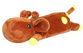 Plush Giraffe Animal Cosmetic Bag Cion Pen Holder Bag - $18.25