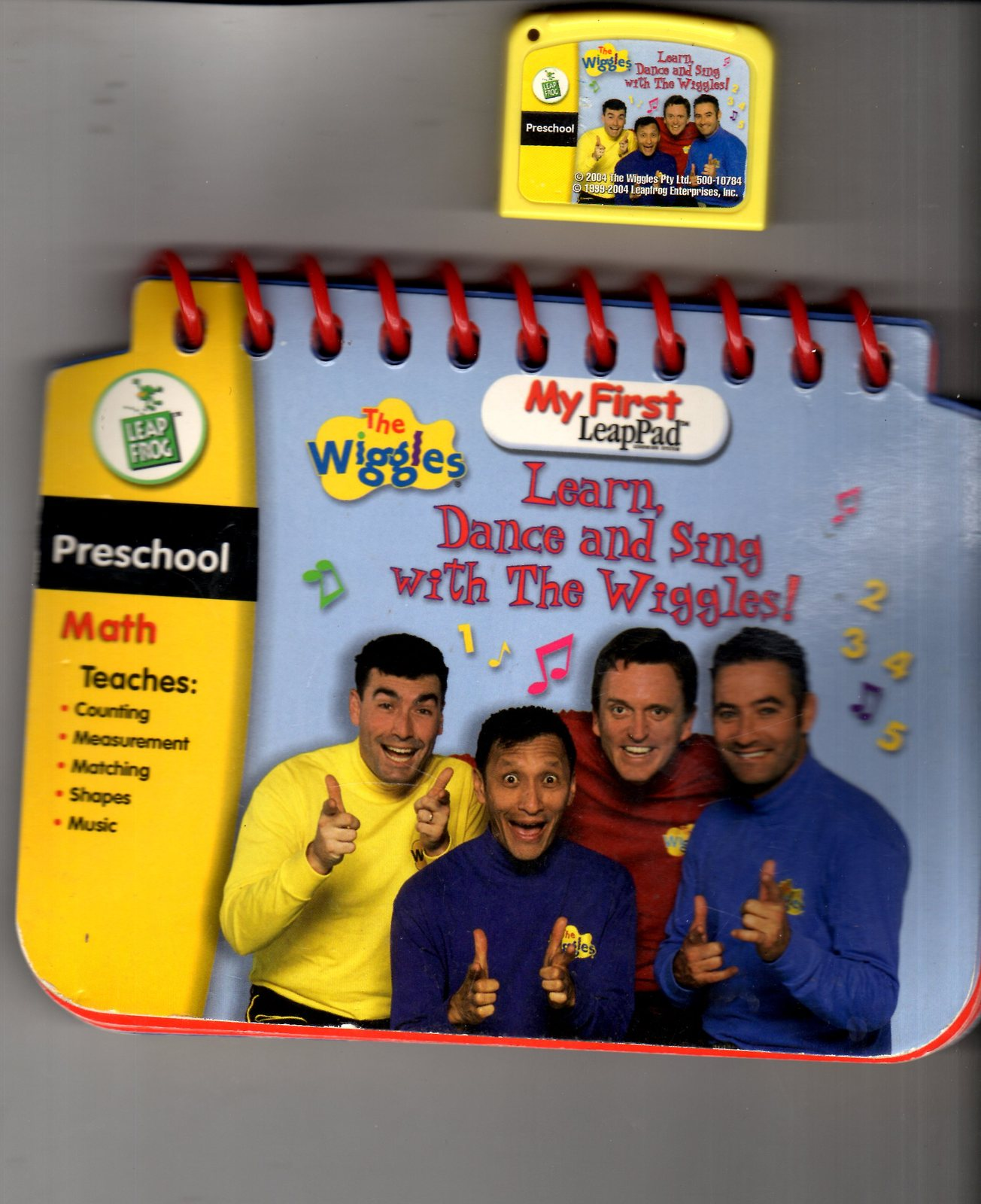 Leap Frog - My First LeapPad  Learning Dance & Sing with the Wiggles