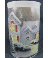Christmas Blessings Thomas Kinkade Coffee Cup Mug 14oz Ceramic - $12.95