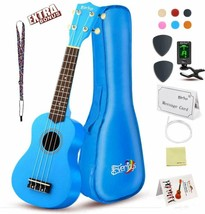 Soprano Ukulele Beginner Pack-21 Inch w/Gig Bag How to Play Songbook Dig... - $59.95