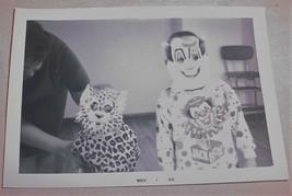 "1964 3 1/2""X 5"" B&W PHOTOGRAPHS CHILDREN IN HALLOWEEN COSTUMES LEOPARD &... - $25.73"