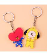 BTS BT21 Bangtan Boys Kpop Acrylic Keychain Keyring Pendant Accessorie J... - $1.99