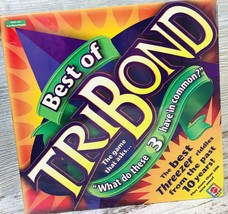 "Best of Tribond ""What Do These 3 Have in Common?"" Mattel Board Game New Sealed - $19.99"
