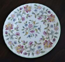 "Minton Haddon Hall 6 Pcs Salad Plates Floral Pattern Bone China England 8"" - $69.95"