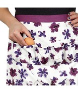 Cackleberry Home Egg Collecting & Gathering Apron 12 Pockets, Lilac Bloom - $16.07