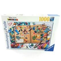 Ravensburger Disney Pixar Jigsaw Puzzle Scrapbook Movie Characters 1000 ... - $29.60